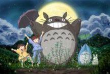 Studio Ghibli / I LOVE GHIBLI / by Florrie (๑•́ ₃ •̀๑)