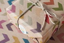 Gift ideas & wrapping / by Jova R