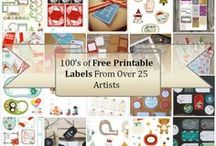 Printable gift tags and lables / Free printable gift tags and labels.....Enjoy!!!!! / by Robin Cassidy