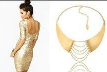 Twój styl - Gold / by By Dziubeka Jewellery