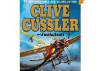 Clive Cussler Books/Related / by Jan DeWees