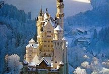 CASTLES & Chateaus / Thank you for following. Have fun pinning. / by Kelly Tran