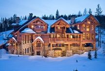 Home - Log Cabins / Dream log cabin homes / by Lyoness Rose