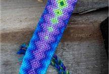 DIY - Jewelry - Friendship-Bracelets / Macramee / by S. K.