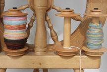 Spinning yarn / by Joanne