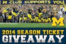 Win Like a Wolverine  / Current Contest and Sweepstakes going on in the Michigan Athletic Department / by Michigan Athletics