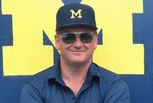 Bo. / Board dedicated to the great Michigan Football coach Bo Schembechler / by Michigan Athletics