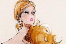 Fashion Ilustration / by Sultan Wedding