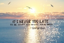 Never too late / by Trish McNaughton