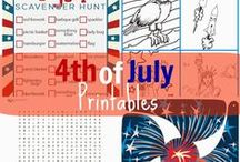 4th of July / Star-spangled fun! / by Angela Kinder