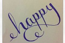 Calligraphy Inspiration!! / by Emily Clerk