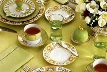 Table settings / by LaDeana Valenzuela