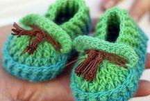 Crochet Booties, Slippers & Socks Pattern Downloads / Crochet Booties, Slippers & Socks Pattern Downloads / by e-PatternsCentral