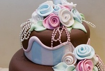 Party Cakes / Fancy cakes for celebrations / by JG Bailey