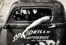 ~Rat Rods~ / Rat Rods, Projects and Cool Old Rides. / by ~Ghost Man~