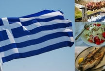 Greek food / by Leonidas Tsaltas