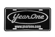 LICENSE PLATES & HARDWARE / GM, Chrysler, Ford and YEARONE plates.  / by YEARONE Muscle Cars