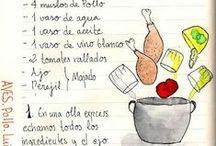 recetas de cocina / by Margarita Hernandez