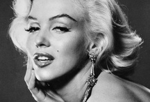 Marilyn-a candle in the wind.../Faces In a Crowd / by Gypsy Moye'