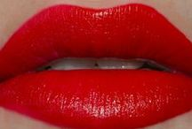 red lipcolours / by The Love of Colour