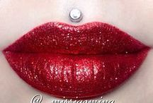 sparkly lipcolours / by The Love of Colour