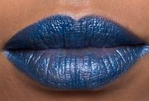 navy lipcolours / by The Love of Colour