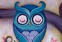 Owl tattoo inspirations / by Laurence Martin-Thériault