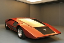 Wedge Shaped Cars / The impractical but cool looking wedge shaped cars / by Antão Almada