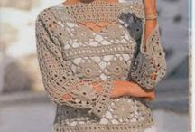 blusas de croche / by aricelia jordao de sa