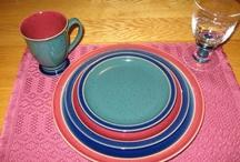 Dinnerware & Glassware / Some of the small pleasures in life!! / by Dan Goodine