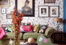 Boho interiors / Interesting interiors for the home / by Monique McDonald
