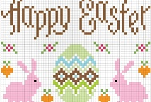 Cross stitch easter / by Tanja Langvad