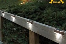 Solar Powered LED Lights / Add Style and Safety by Harvesting the Power of the Sun. / by Sporty's Tool Shop Catalog