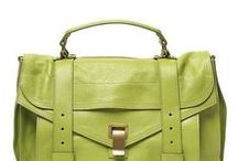 I Love Purses / Shades of pink and green purses / by Faye McLeod