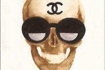 skull~ture / art / by kim gesumaria