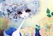 Ilustraciones / Me gusta mucho este tipo de ilustraciones. Me gusta dibujar. / by María del Mar Iglesias Martínez