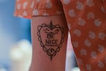 [ Tatuaggi ] / by Erica C