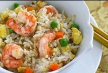 Shrimp & Rice Recipes  / From Southern Long Grain Rice and Thai Jasmine Rice to Basmati Rice and Arborio Rice, this grain pairs perfectly with shrimp dishes of all varieties! / by Eat Shrimp