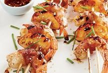 Fire It Up with Shrimp! / Shrimp shines in dishes prepared on the grill over hot, fiery coals! / by Eat Shrimp