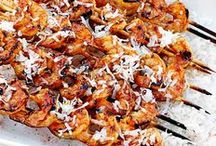 "Tailgate Takeover with Shrimp! / We (The Shrimp Council), our friends at Thirty-One Gifts and four shrimptastic food bloggers are teaming up to take over your tailgate this football season. Whether you're a die-hard fan or a ""came for the food"" kind of person, we have the winning recipes and tailgate inspiration to make you this season's MVP. / by Eat Shrimp"