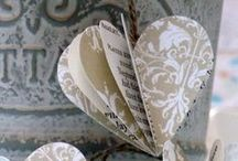 <3 PAPER  heARTS / Paper Art. All things paper, used for artistic purposes. / by Michelle