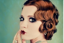 Hair / Styles I like, and some tutorials. Focus on retro and romantic. / by Maria Moréteau