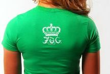 ROYAL SHIELD Christian T-Shirt - Pepper Green / Royal & Fearless! This short sleeve Christian T-shirt features a crew neckline, printed classic F.O.G. royal shield design at front. Signature logo and crown design at right sleeve and on top back of t-shirt. #FOG Christian T-Shirts # Christian T-Shirts #Christian T-Shirts for Women #Stylish Christian T-Shirts #FOGcollection / by F.O.G. FAVOR OF GOD
