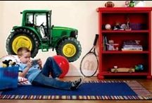 My John Deere Room / by James River Equipment