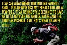Tenkara - The Art and Passion / Tenkara Fishing - a form of Fly Fishing / by Todd Bremner