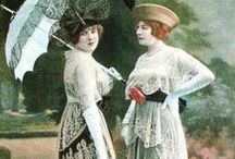 WHAT they WORE -1900-1920 / Vintage & costume / by Alison Morehead