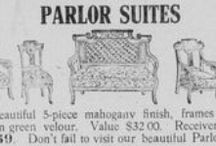 Vintage Furniture Advertisements / Vintage furniture advertisements from the early 20th Century as found in Vermont newspapers on Chronicling America (chroniclingamerica.loc.gov). / by Vermont Digital Newspaper Project/VTDNP