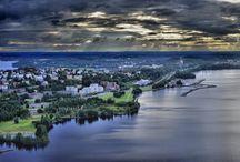 Tampere, Finland / Tampere on Suomen kolmanneksi suurin kaupunki, jossa asuu 217 421 ihmistä (virallinen väestötieto 31.12.2012). Kaupungin pinta-ala on 689,6 neliökilometriä, josta vettä on 164,6 neliökilometriä. Population of Tampere was 217421at the end of 2012. Tampere area is 689,6 square kilometer, which include 164,6 square kilometer of water. / by Taru