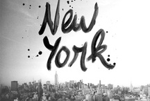 + NEW YORK CITY + / by Eveline I Nummer Acht Grafisch Ontwerp