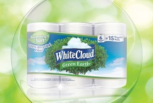 Living the Green / With White Cloud®, Living the Green means not having to compromise quality products for an affordable price. 